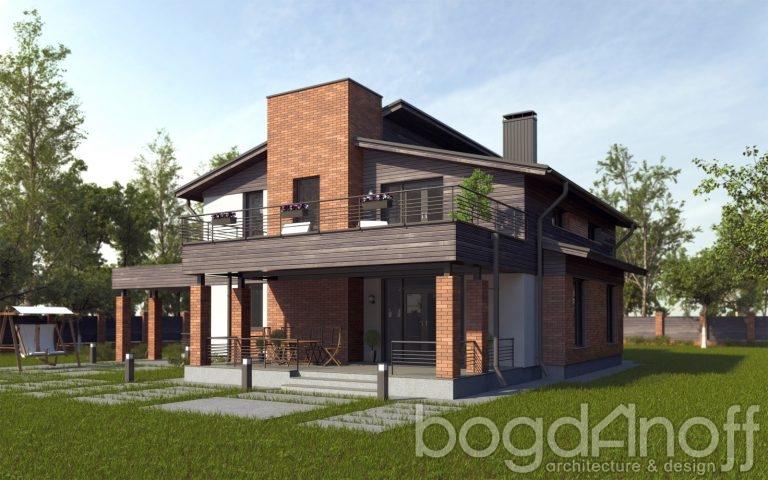 Готовый проект дома П5-2