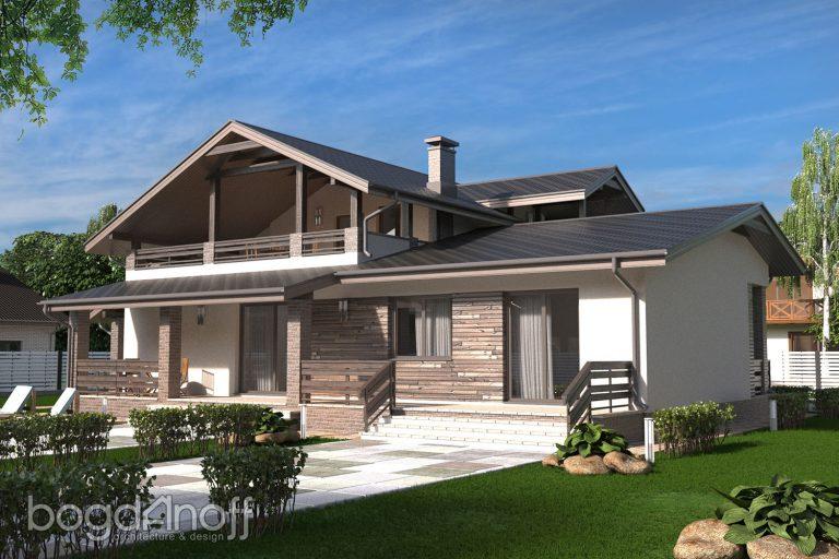 Проект дома П5-5