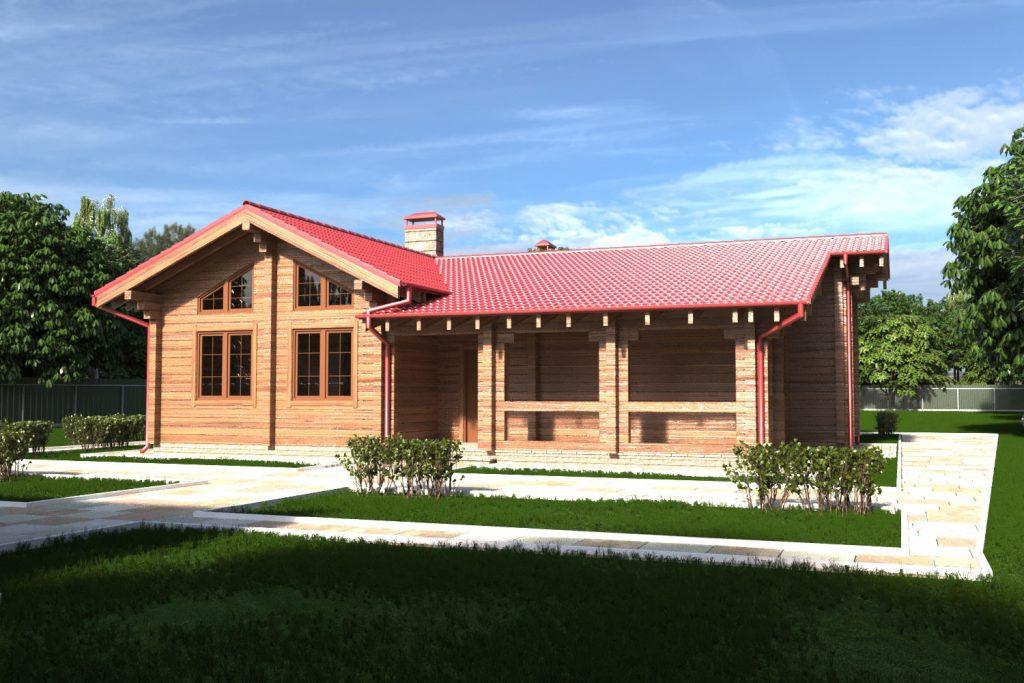 Готовый проект дома Криница