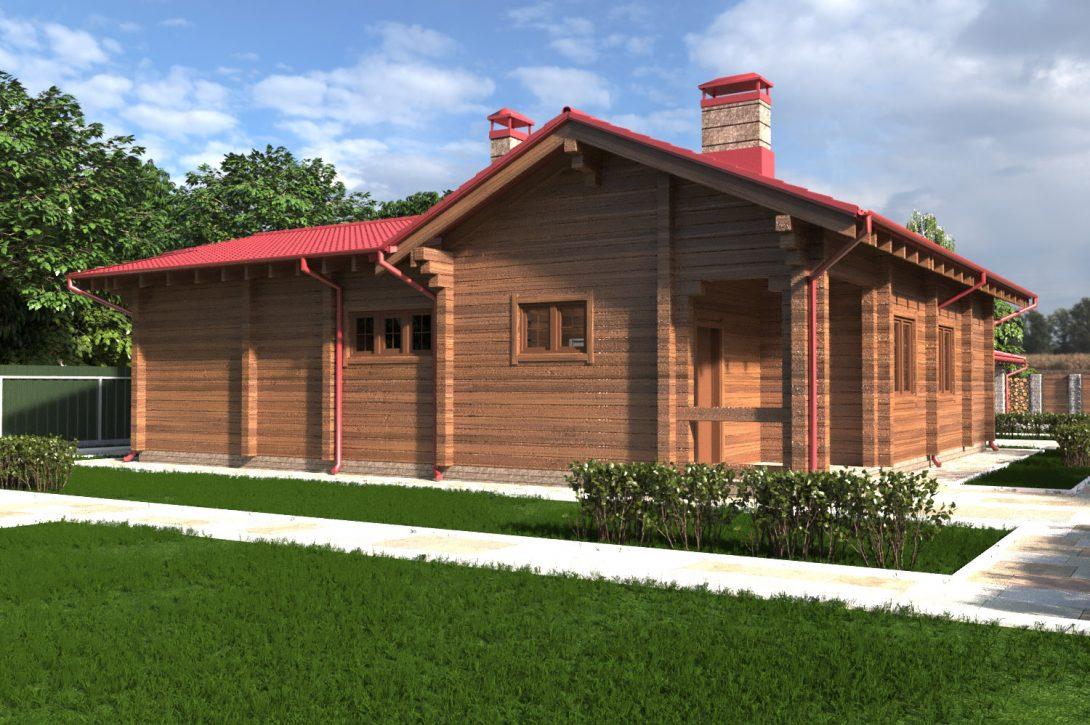 Деревянный дом Криница