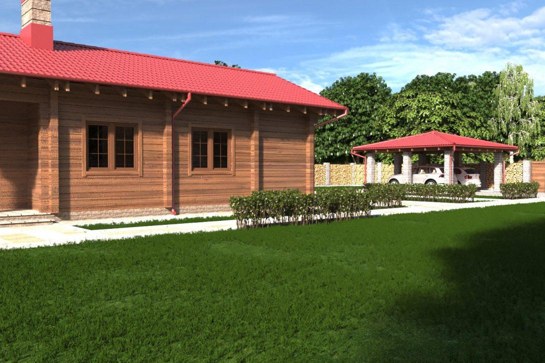 Жилой дом из дерева Криница