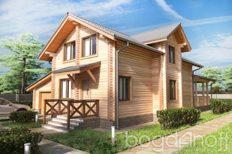 Готовый проект дома Первомай