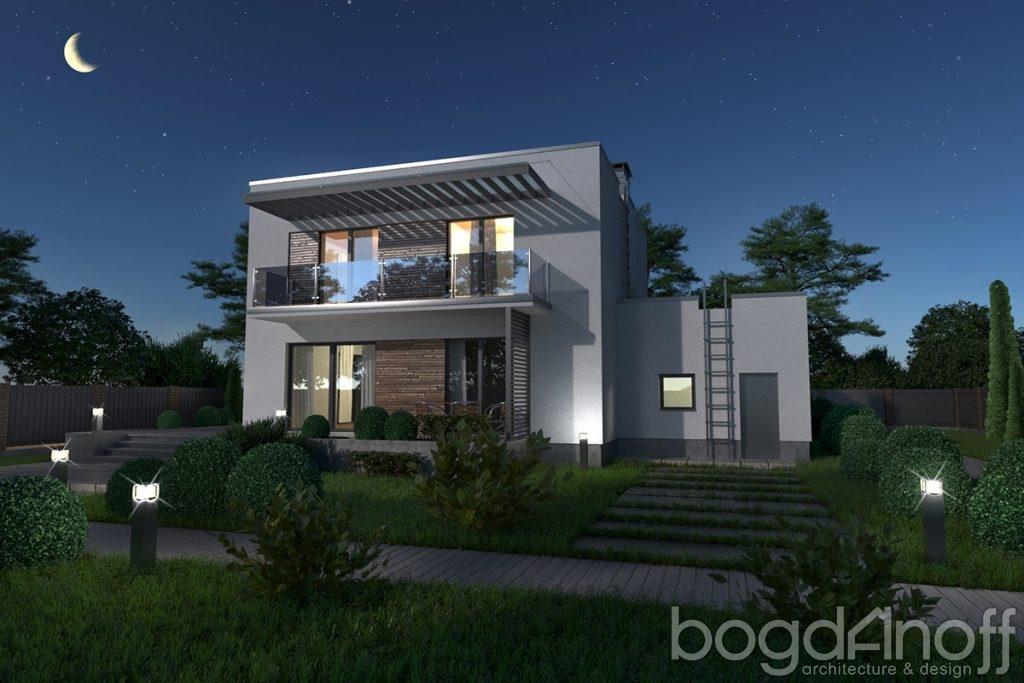 Готовый проект дома Novo