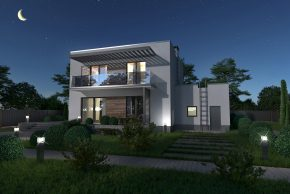 Польский проект дома Nowik в РБ фото