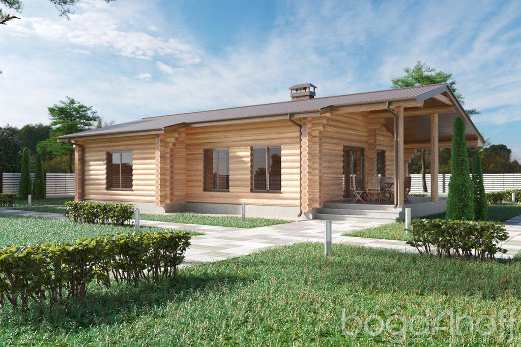 Готовый проект дома Ветче