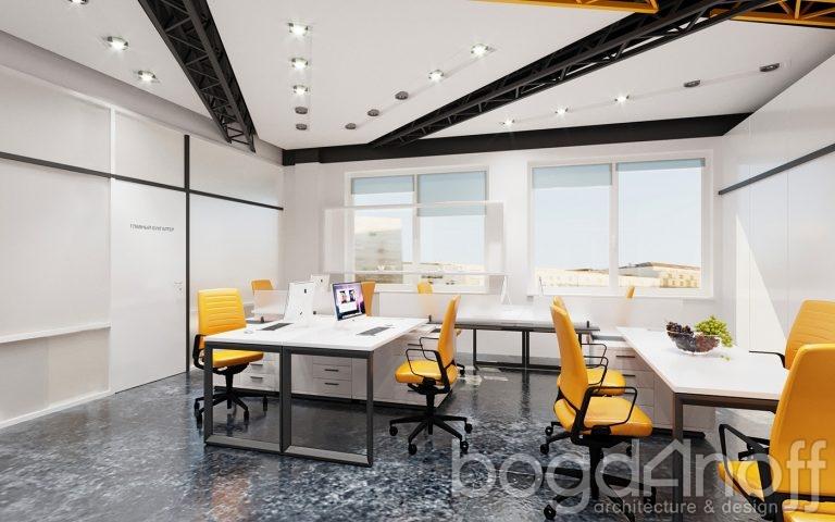 креативный интерьер офиса