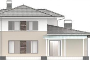 Макет двухэтажного дома