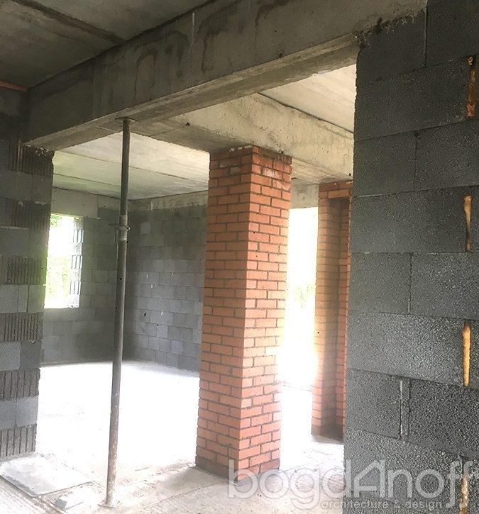 Проект дома изнутри