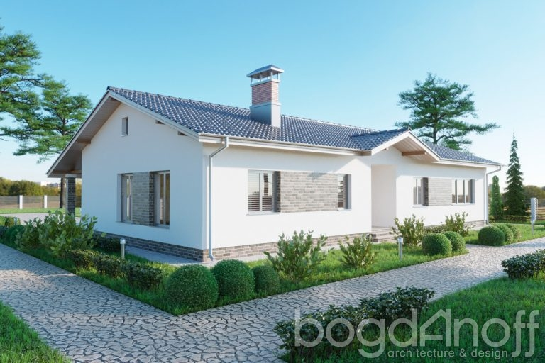 Проект дома П4-26