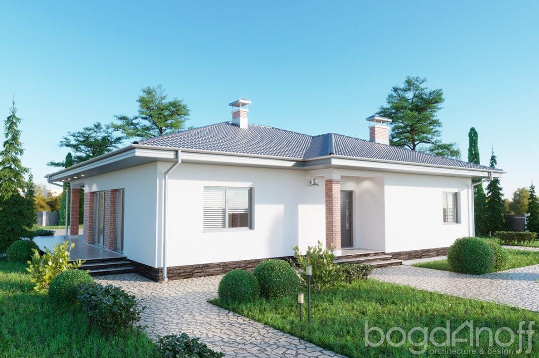 Удобный проект дома в 1 этаж Минск фото