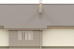 Макет дома с гаражом и террасой