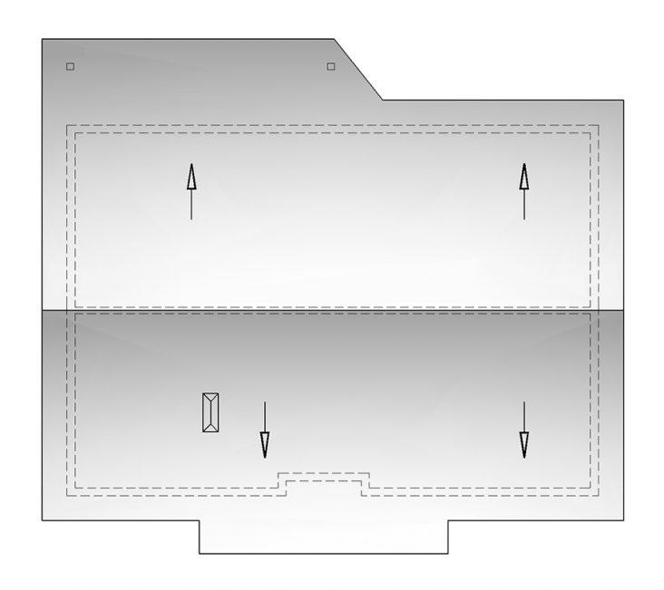 Проект дома П4-42 - крыша