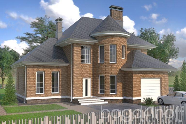 Проект дома П25-2