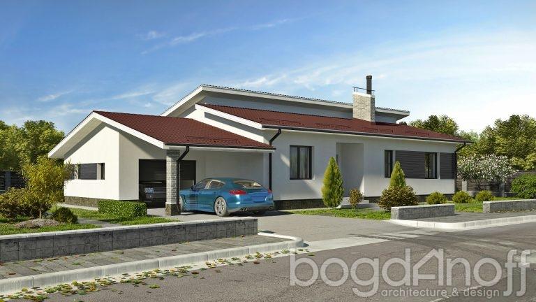 Проект дома П4-241
