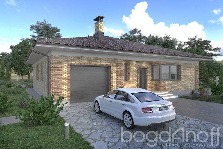 Проект дома П4-33