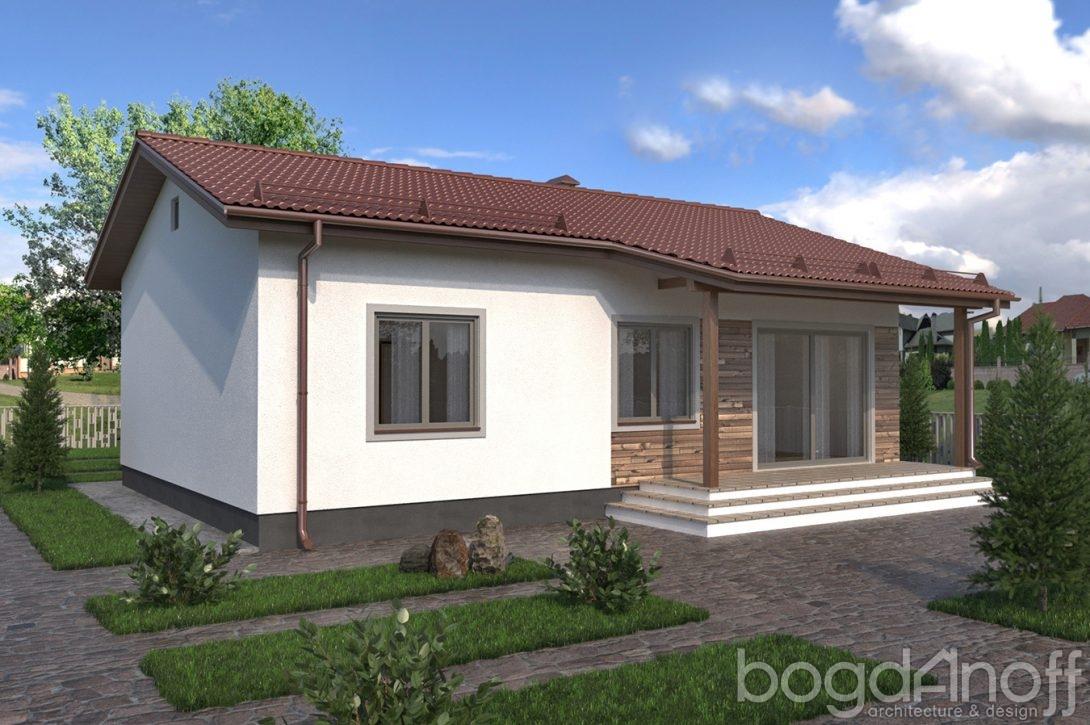 домик с террасой