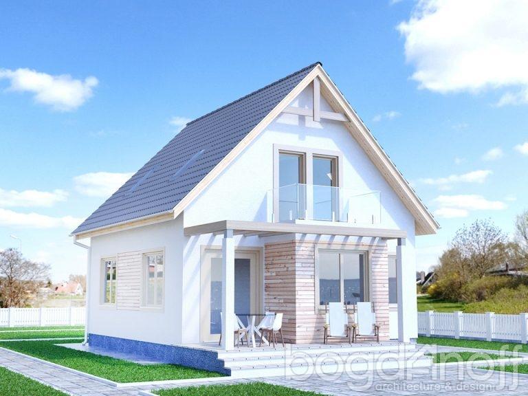 Проект дома П40-1