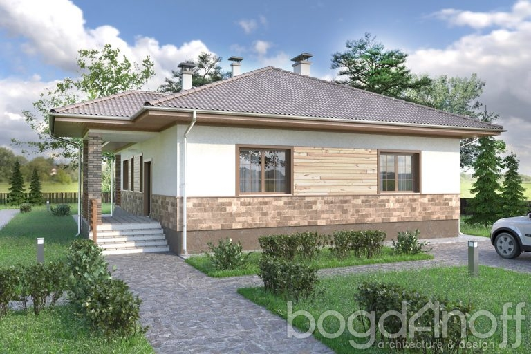 Проект дома П41-1