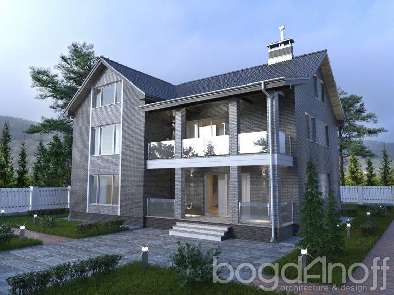 Проект дома П4-151