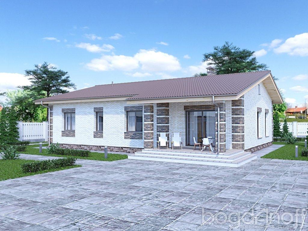 Проект дома П4-242