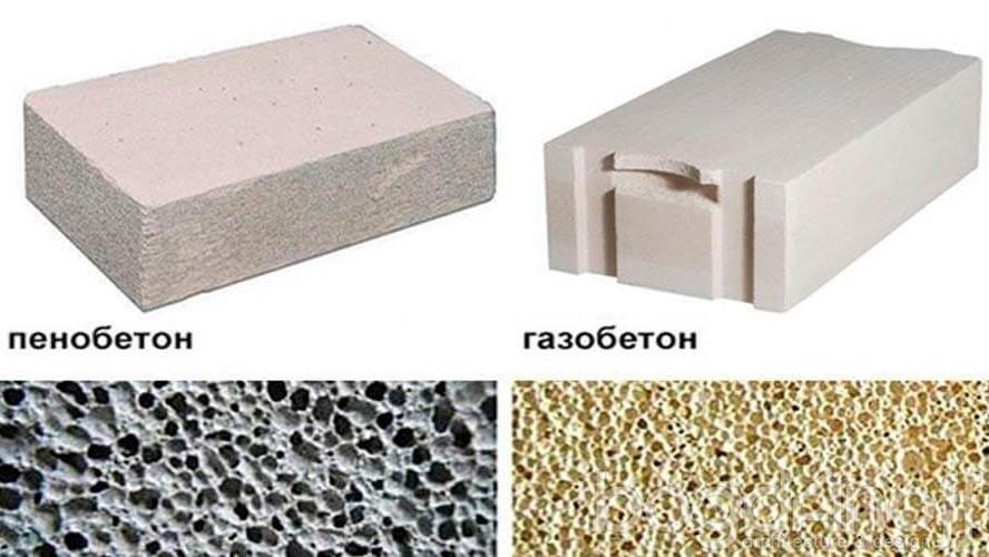 газобетон пенобетон или газосиликатные блоки что лучше