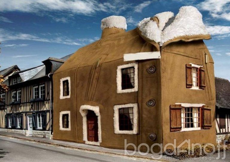 Утепление и отделка фасада здания