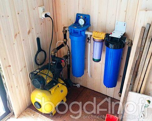 Устройство водоснабжения в коттедже
