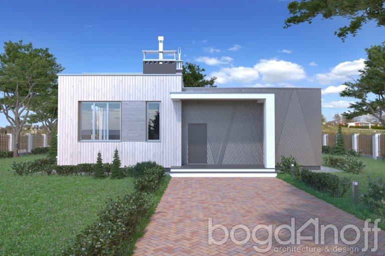 Проект дома П11-64
