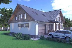 домик шале для строительства Минск