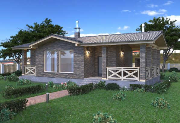 Гостевой дом с террасой