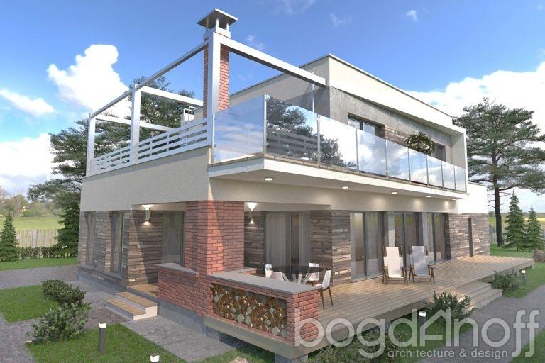 Проект дома Unifox 2
