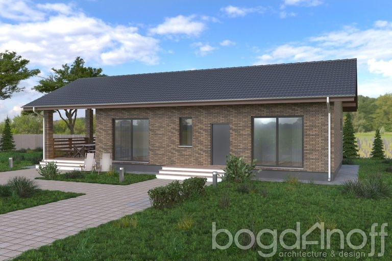 Проект гостевого дома Б-5