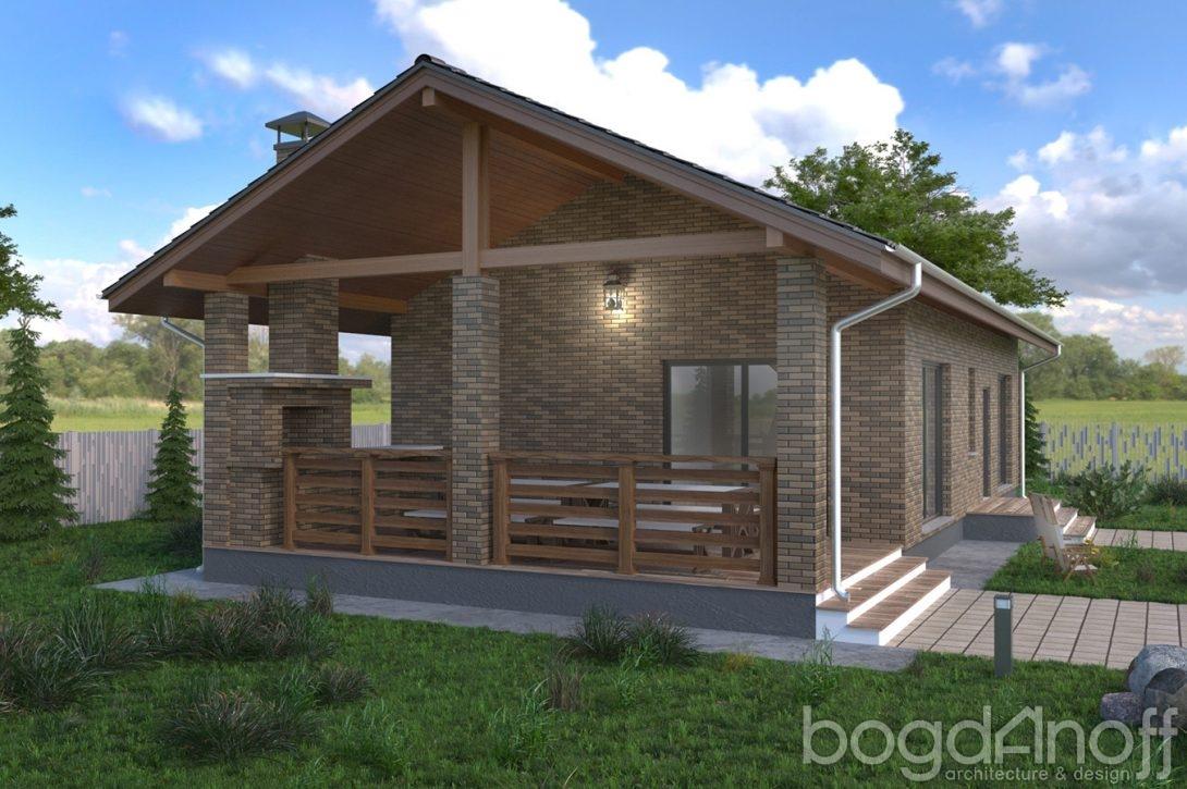 Проект гостевого дом-бани