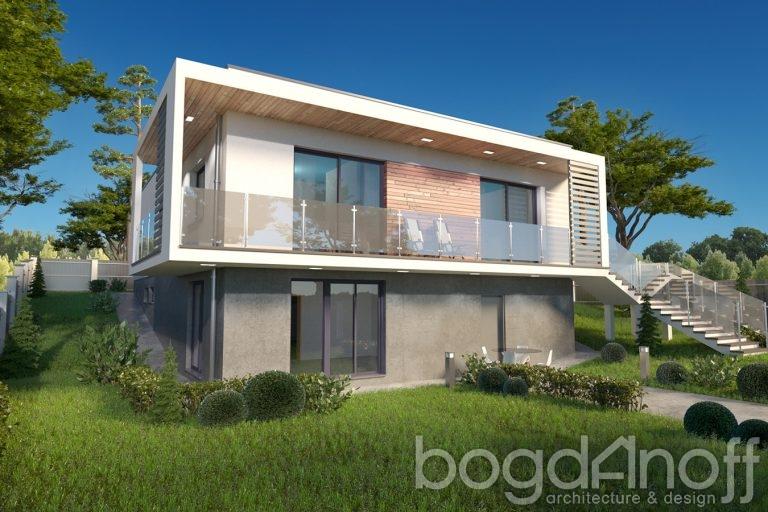 Проект дома П12-8