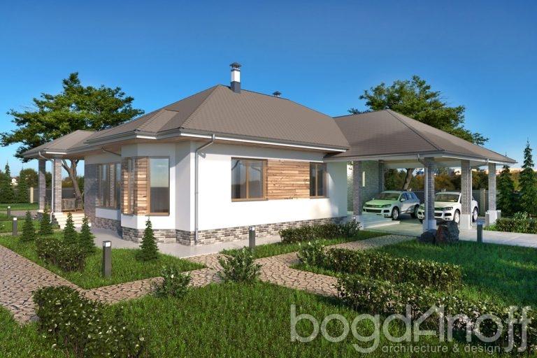 Проект дома П4-11