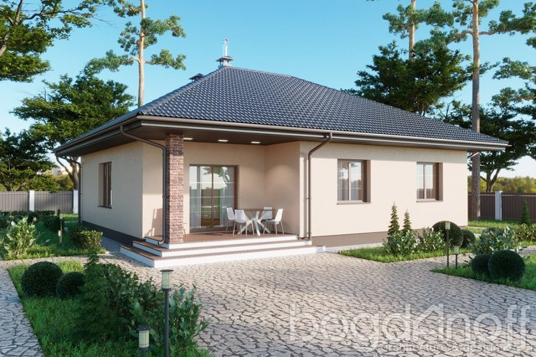 Проект дома П4-81