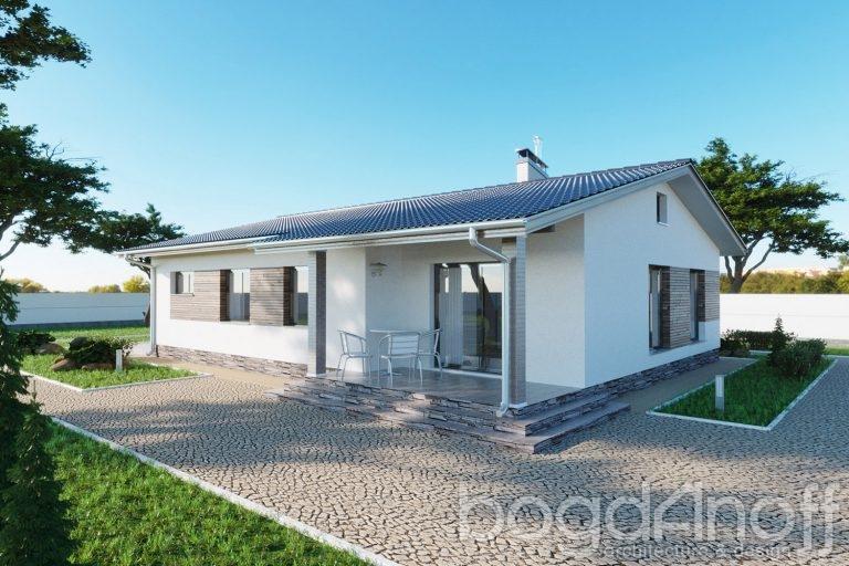 Проект дома П4-231