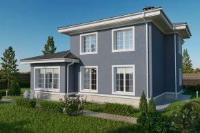 Проект двухэтажного дома фото