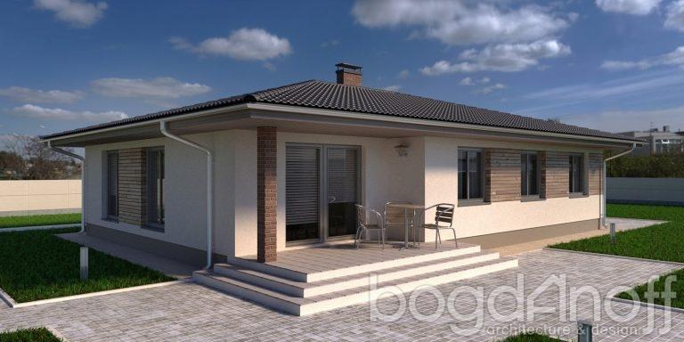 Проект дома П4-232