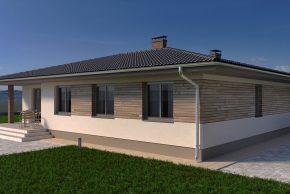 Проект дома с вальмовой крышей фото
