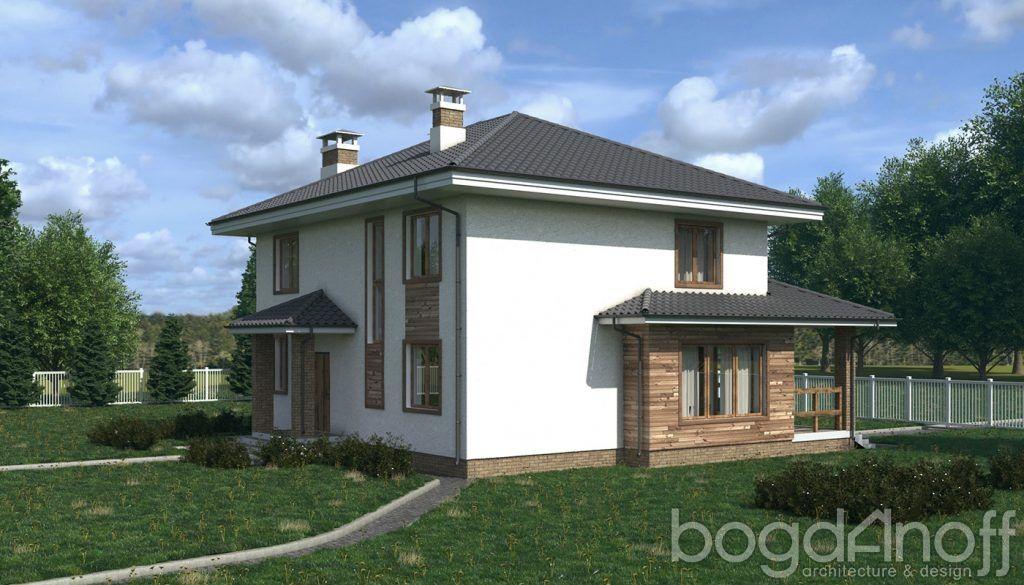 Проект дома П6-52