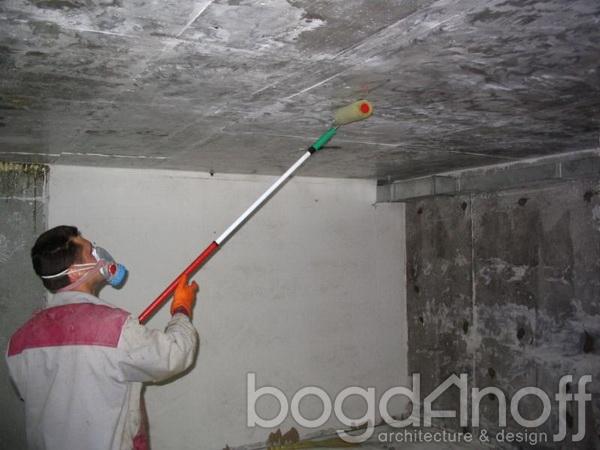 гидроизолируем потолок в погребе