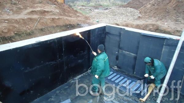 гидроизолируем стены погреба