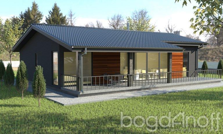Проект дома П4-43
