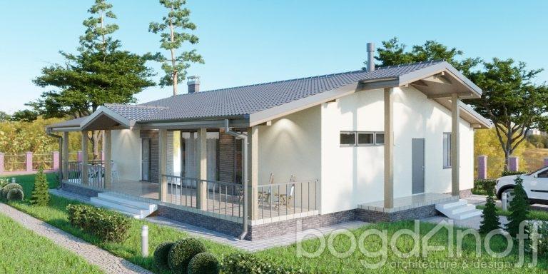 Проект дома П4-44